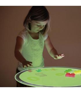 Panel luminoso LED A2 cambia de color circular