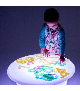 Mesa luminosa sensorial