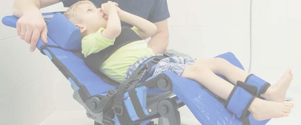 hamacas de baño discapacidad infantil