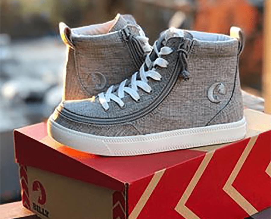 BILLY FOOTWEAR, las zapatillas con cremallera que revolucionan la forma de poner y quitar el calzado